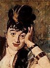 Eduard Manet Woman with Fans [detail] painting